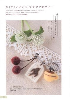 Stylish Felt Wool Accessories Japanese craft by 1127handcrafter