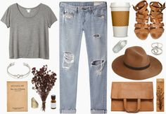 Casual look for cafe time by Dara Muscat