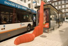 This unusual bus stop looks a bit like it has a parasitic growth protruding from its side. It is, in fact, an urban intervention by Portuguese firm Like Architects. The project is called Bus Stop Symbiosis,and symbiosis is a better word than parasitic to describe the relationship between the exi ...
