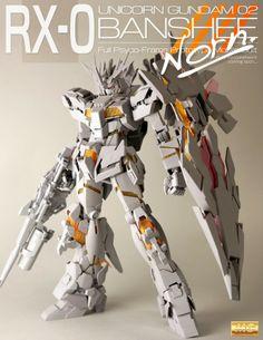 MG 1/100 Gundam Unicorn 02 Banshee / Banshee Norn [D/U Mode] - Customized Build