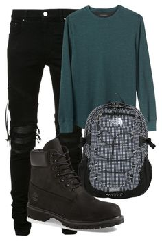 """""""Unbenannt #37"""" by charlypony on Polyvore featuring AMIRI, Banana Republic, Timberland, The North Face, men's fashion und menswear"""