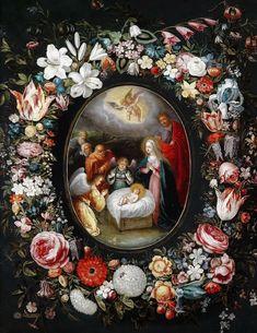 * Jan Brueghel II (de Jonge) - - - Christmas.