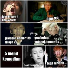 meme comik BTS part II (vkook/Taekook, namjin, yoonmin, jhope (? Memes Funny Faces, Funny Kpop Memes, Bts Memes, Bts Jungkook, Taehyung, Namjin, Kpop Aesthetic, Cute Faces, Yoonmin