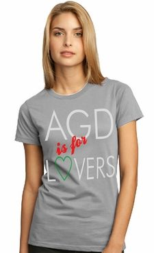 AGD is for lovers! #AGD #t-shirts #sororityclothing