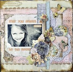 Fairy Belle Collection by Jodie Lee for Prima Marketing. Layout by Janine Koczwara.