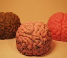 Zombie brain soap