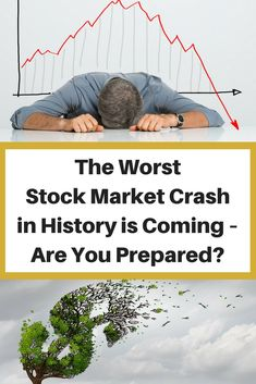 A market cannot crash without showing dire warning signs of lurking danger. If you compare the Dow Jones' current performance to its historical performance, you can see that we're destined for another monumental crash. In this article, we'll explore why we're going to experience the worst stock market crash in history. We'll also cover what you can do to prepare and secure your wealth from economic disaster. #StockMarket #financial