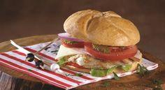 Hamburger με κιμά κοτόπουλου