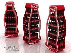 Coca Cola Display Gondolas (4 options) on Behance