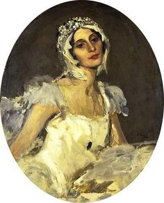 Anna Pavlova as The Dying Swan by John Lavery