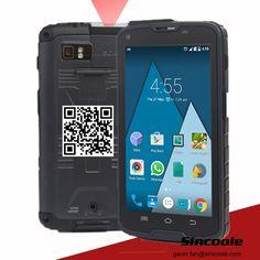 5 inch RAM/ROM:2GB/16GB rugged smart handheld terminal, barcode scanner reader