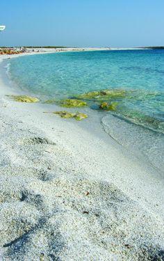 Spiaggia is arutas ( or )  Sardinia