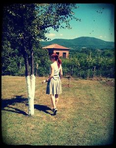 Bakaliaros Skirt / Spring Summer 2013  #skirt #bow #madameshoushou #madame shou shou #graden #romantic #girl