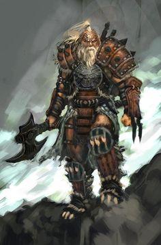 Urzoth-Bar-Grim, commandant de l'Ordre des Martyrs