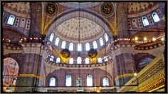 The Blue Mosque (Called Sultanahmet Camii in Turkish) was built by Sedefkar Mehmet Aga in the sultan Ahmet's time between years. Turkey Photos, Istanbul Travel, Blue Mosque, Blue Tiles, Barcelona Cathedral, Traveling By Yourself, The Neighbourhood, Fair Grounds, Tours