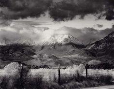 Bruce Barnbaum  Basin Mountain, Approaching Storm, 1973