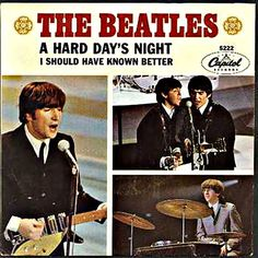 Music in the 60s. And, then... the Beatles shot back with another firecracker of a song: A Hard Day's Night.  What a rocking tune!  It was so different from anything I'd never heard.  Well, not as wild as the feedback at the beginning of I Feel Fine... which I don't think was out yet.  God, we played I Feel Fine so loud the neighbors' windows rattled and people blocks away could hear it. I think that was the song.  My mother was the one who turned the volume up!