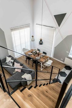 Contemporary apartment by Shoko Design 15 Loft Design, Design Case, House Design, Industrial Apartment, Apartment Interior, Family Apartment, Contemporary Apartment, Contemporary Decor, Best Interior