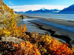 Turnagain Arm, Alaska.  I would LOVE to be in Alaska right now...@LaShante Bennett