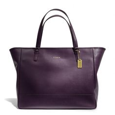The Large City Tote In Saffiano Leather from Coach - I just ordered this.  Great new Fall 2013 addition to my wadrobe. :)