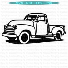 Truck SVG Old Truck svg Antique Truck svg Chevy Truck svg Ford truck svg Farm Truck svg Restor Antique Trucks, Vintage Trucks, Farm Trucks, Big Trucks, Diesel Trucks, Ford Diesel, Classic Ford Trucks, Classic Cars, Chevy Classic
