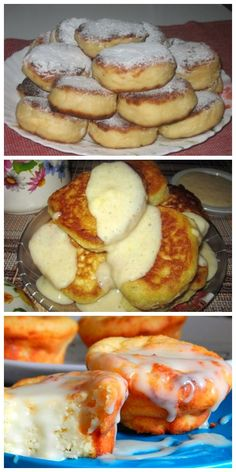 Lush cheesecakes that just melt in your mouth! Russian Recipes, Cheesecakes, Health Tips, Breakfast Recipes, French Toast, Sweet Treats, Food And Drink, Lose Weight, Dishes