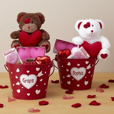 Shop personalized Valentine's Day gifts at Personal Creations. Valentine's Day gifts for 2019 includes romantic gifts in any price range! Valentines Day Baskets, Valentine Gifts For Kids, Valentines Gifts For Boyfriend, Valentine Day Crafts, Valentine Day Love, Diy Valentine's Day Decorations, Valentines Day Decorations, Valentines Fundraiser Ideas, Valentine's Day Gift Baskets