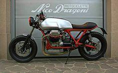 "RocketGarage Cafe Racer: Moto Guzzi SP1000 ""Zani""."
