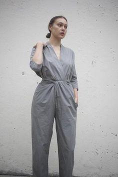Cosmic Wonder Wrapped Suit in Grey | Oroboro Store | Brooklyn, New York