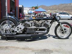 Insane Triple Engine Yamaha R5 (based) 2-stroke Drag Racer!!! « Motorcycle Photo Of The Day
