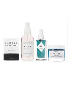 Ultimate Skin Care Collection for Oily / Combination Skin   Includes: Charcoal soap (cleanser), Rose face mist (toner), Lapis face oil (serum & moisturizer), & Blue Tansy clay mask   $146 (for $164 value)