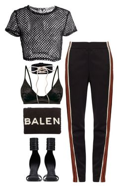 """Bad Gal"" by silhouetteoflight ❤ liked on Polyvore featuring Wales Bonner, Rick Owens, Puma and Balenciaga"
