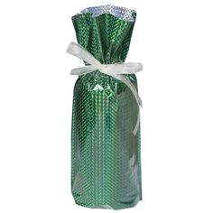 Gift Mate 21096-5 5-Piece Wine/Bottle Drawstring Gift Bags, Diamond Green *** Click on the image for additional details.