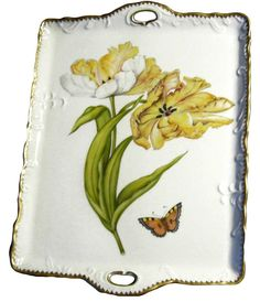 Tulip Tray Old Masters Tulips by Anna Weatherley