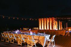 Sky Terrace Reception at the Royalton Riviera Cancun Resort, Riviera Maya, Mexico. Jonathan Cossu Photographer. Wedding reception, wedding inspiration