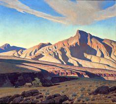"""Home Of The Desert Rat"" Maynard Dixon Print – Phoenix Art Museum Store Landscape Art, Landscape Paintings, Landscapes, Desert Landscape, Dixon Homes, Maynard Dixon, Phoenix Art Museum, Southwestern Art, Desert Art"