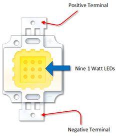 10 Watt High Power LED with an Arduino