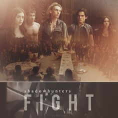 We fight for humanity. We fight for justice. WE are Shadowhunters.