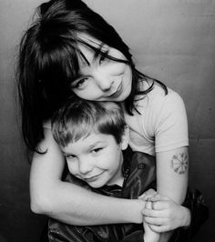 """""""People that complete other people's vision are understated.""""  ~ Bjork and son, by Einar Snorri"""