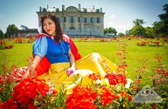 Snow White photoshoot by Chamelle Photography