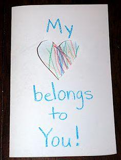 Super Simple Valentine's Cards #inlieuofpreschool