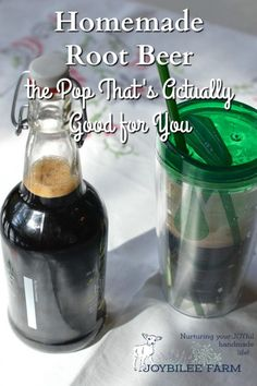 Homemade root beer is a healthy alternative to commercial pop.  When it's made with herbs, the old fashioned way, it is healthy, tonic, and energizing.  Try my recipe.  It's as easy as making tea.
