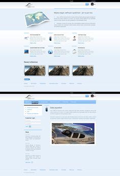 Geosense by ~lefiath on deviantART#webdesign