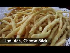 ANEKA KLETHIKAN # 3: CHEESE STICK - YouTube Snack Recipes, Snacks, Cake Cookies, Cheddar, Macaroni And Cheese, Dan, Chicken, Ethnic Recipes, Youtube