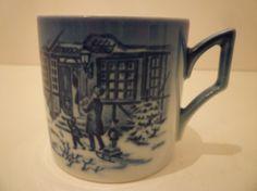 ROYAL COPENHAGEN COLLECTOR  Mugs. Denmark by JenniferCheriDesigns