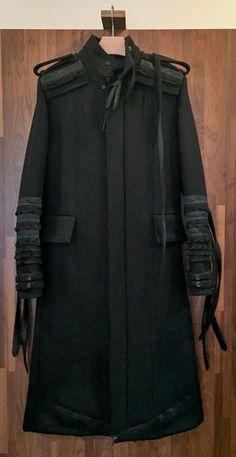 Fshn House - Hedi Slimane · Dior Dior Homme AW 03 Luster Napoleon coat sz  48 Size US M   EU 48 538202f228d