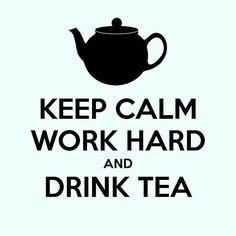 Buenos días!  Vamos a por el martes, el nuestro cargadito de trabajo por los pedidos de ayer,  a por ellos!  Con una taza de té negro en la mano eso sí.  #tea #trabajando #buenosdías #goodmorning #teatime #teamoment #blacktea #martes