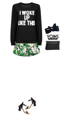"""""""I woke up like this"""" by blueeyed-dreamer ❤ liked on Polyvore featuring contest and yoins"""