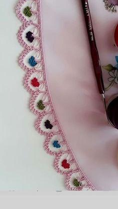 Most Trending 38 Crochet Patterned Beaded Sequential Needlework Models Crochet Motifs, Crochet Flower Patterns, Lace Patterns, Baby Knitting Patterns, Crochet Flowers, Crochet Lace, Crochet Stitches, Schmuck Design, Handmade Flowers