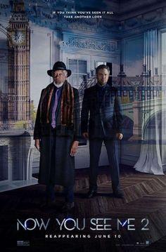 Morgan Freeman and Mark Ruffalo in Now You See Me 2 (2016)